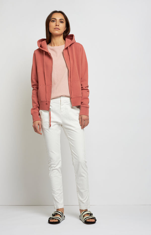 Zip Up Hoodie Callie in Earth RoseNili Lotan - Anita Hass