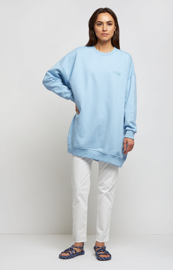 Oversized Sweatshirt Isoli in HeatherGanni - Anita Hass