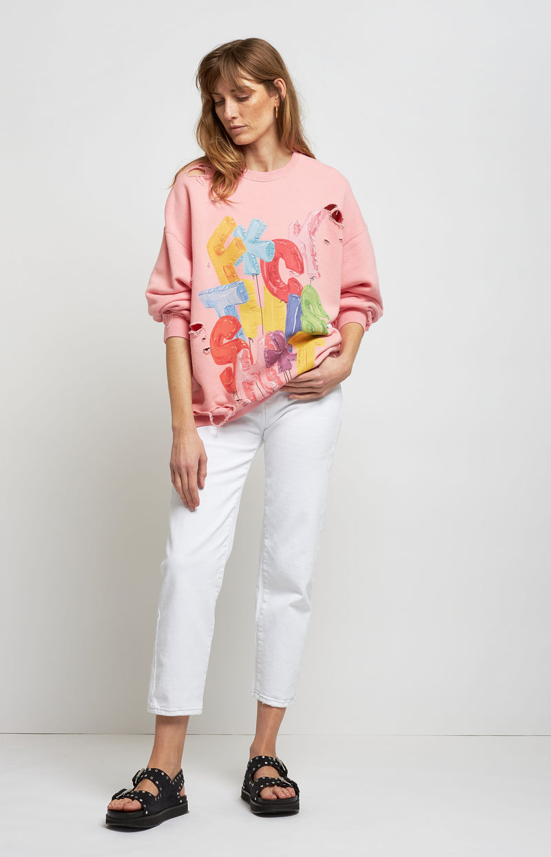 Pullover FTS Oversized in PinkR13 - Anita Hass