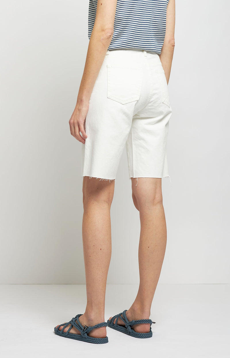 Bermuda Shorts Boyfriend in Cream WashNili Lotan - Anita Hass
