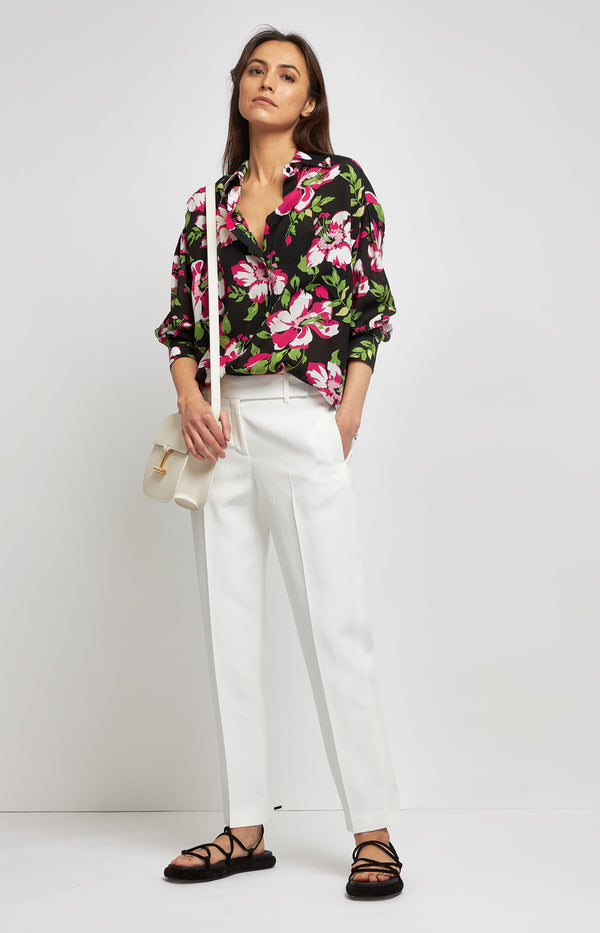 Bluse mit Hawaii-Print in Combo Sugar PinkTom Ford - Anita Hass