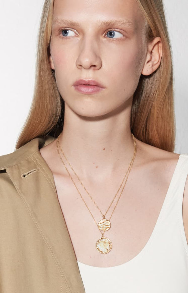 Kette Coin in GoldNina Kastens Jewelry - Anita Hass