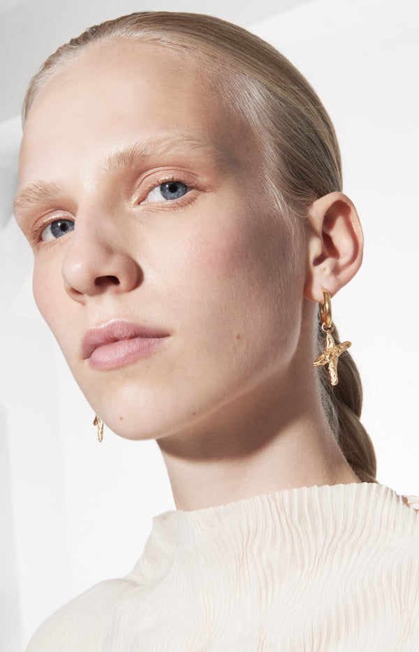 Ohrringe X Hoops in GoldNina Kastens Jewelry - Anita Hass