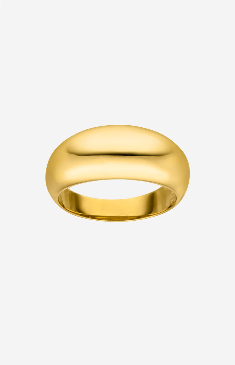 Medium Chunky Ring GoldNina Kastens Jewelry - Anita Hass