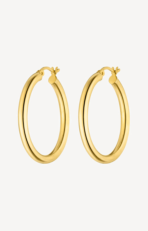 Large Hoops GoldNina Kastens Jewelry - Anita Hass