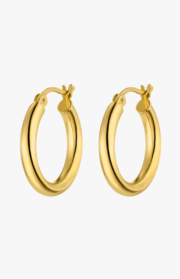 Medium Hoops GoldNina Kastens Jewelry - Anita Hass