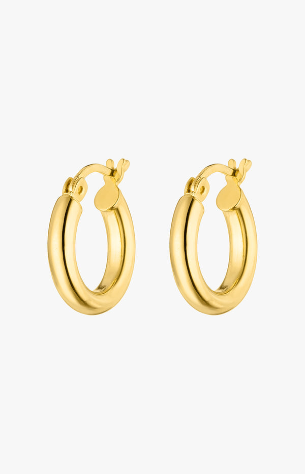 Small Hoops GoldNina Kastens Jewelry - Anita Hass