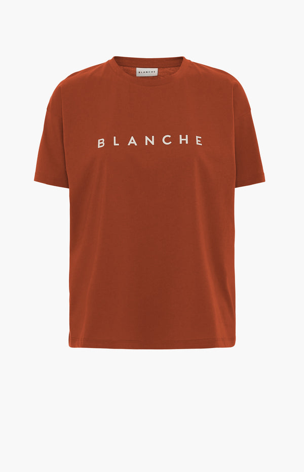 T-Shirt Main Contrast in SpiceBlanche - Anita Hass