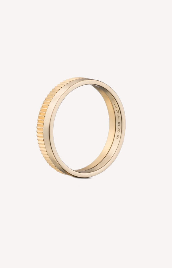 Ring Structured Slim OneLilian von Trapp - Anita Hass