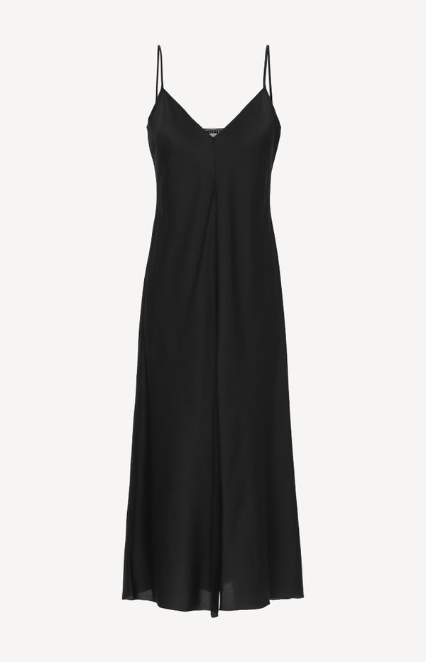 Slip Dress in SchwarzRotate - Anita Hass
