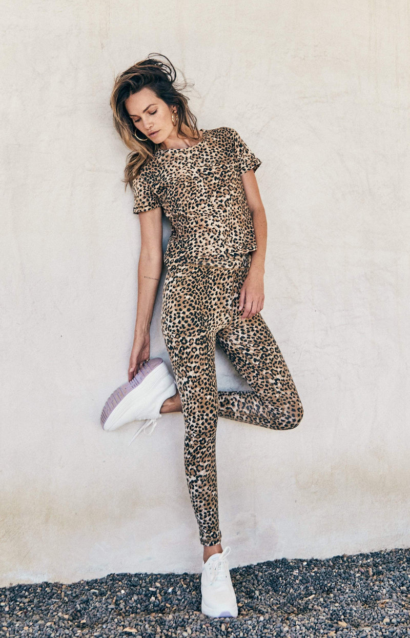 Leggings Brown LeopardRagdoll - Anita Hass