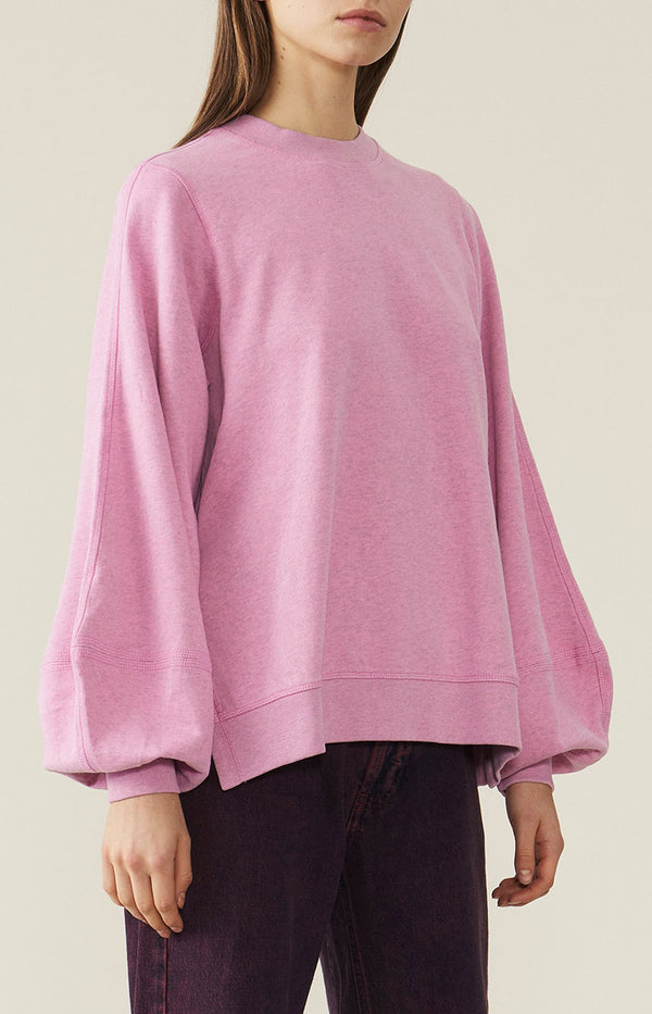 Sweatshirt Isoli Moonlight MauveGanni - Anita Hass