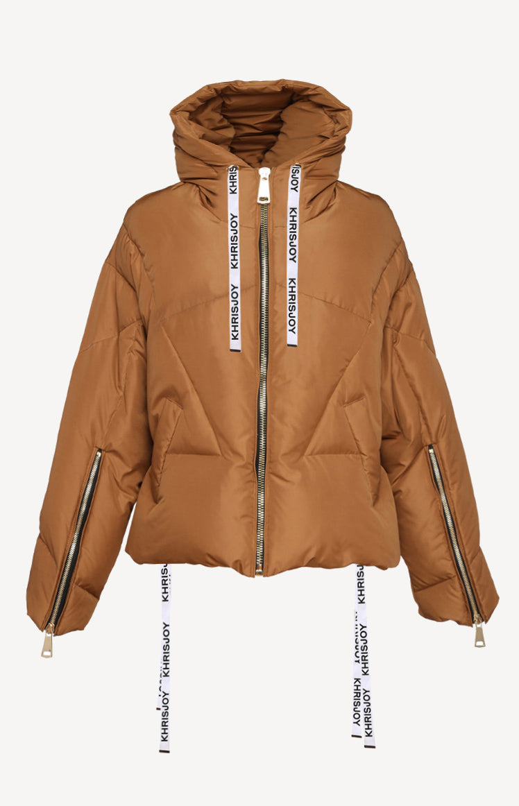 Daunenjacke Khris Puffer in Light BrownKhrisjoy - Anita Hass