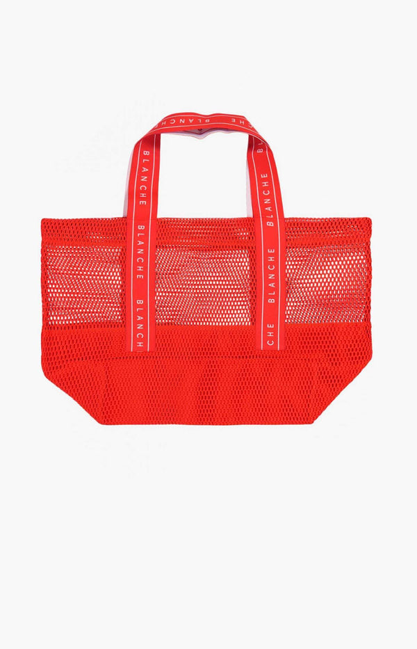 Shopper Promo Bag in CoralBlanche - Anita Hass