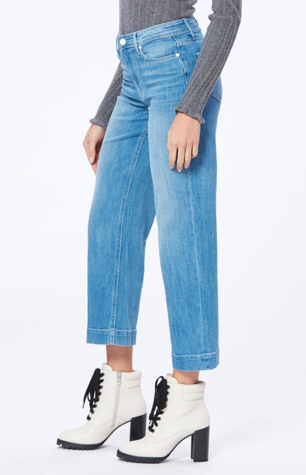 Jeans Nellie Culotte in Snowbunny