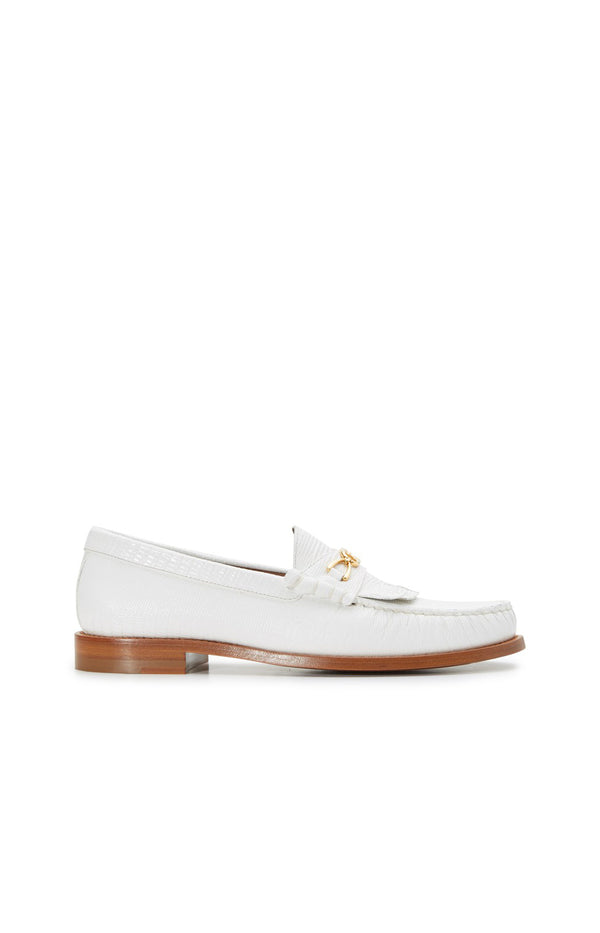 Loafer Maillons Triomphe 15 in Optic WhiteCeline - Anita Hass