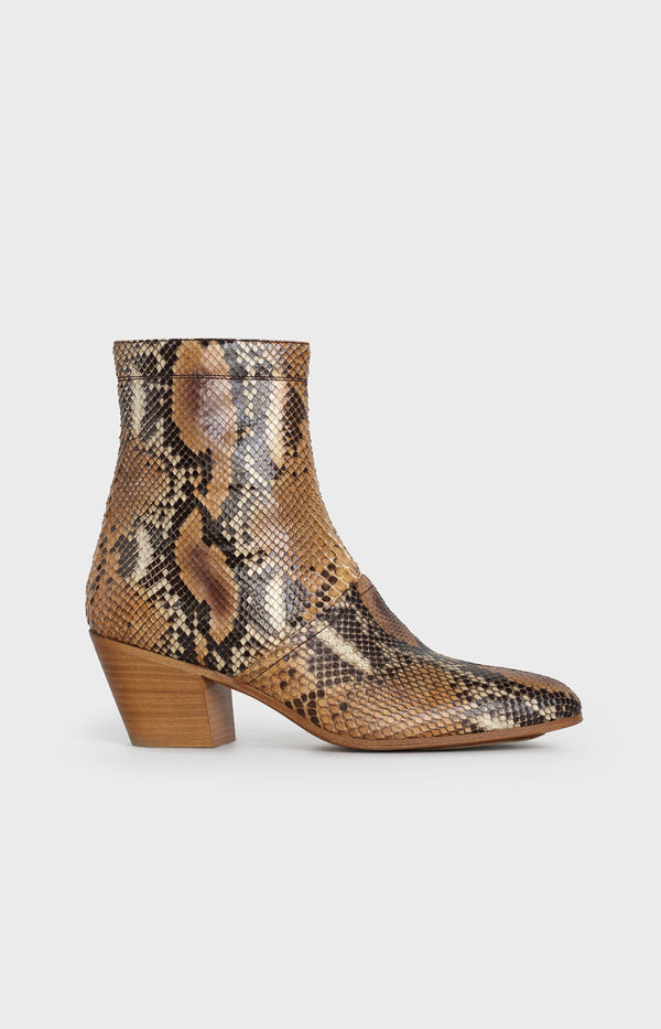 Ankle Boots in Python PrintCeline - Anita Hass