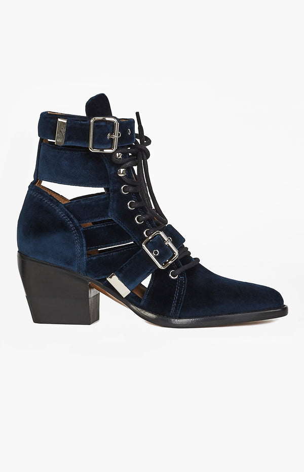 Rylee Ankle Boot Blue LagoonChloé - Anita Hass