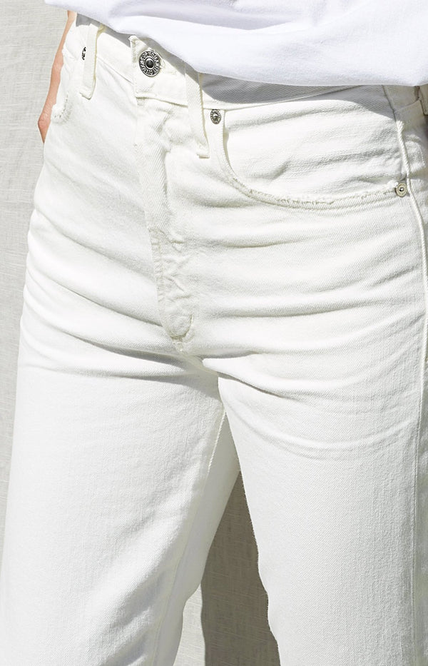 Jeans Dree Crop High Rise Soft WhiteCitizens of Humanity - Anita Hass