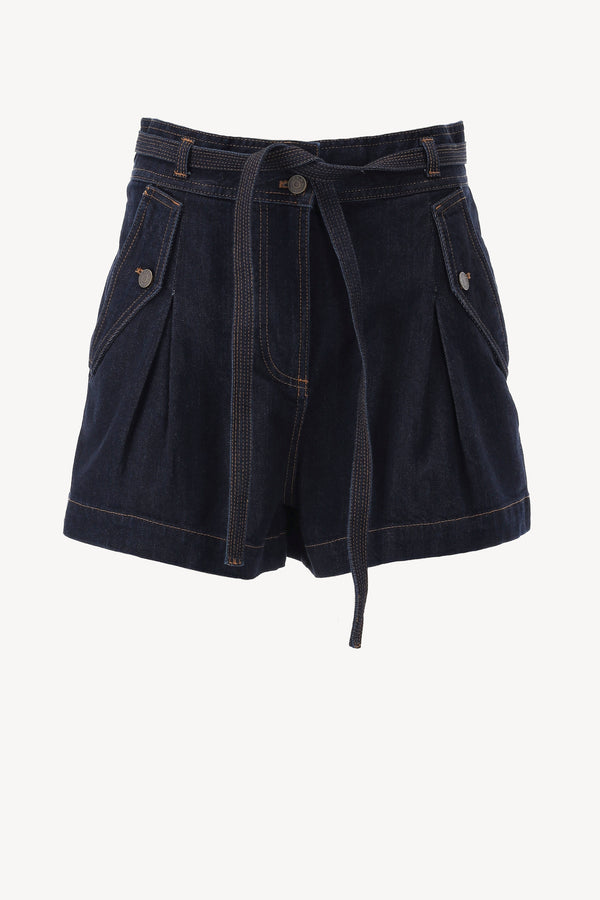 Shorts Alec in Indigo