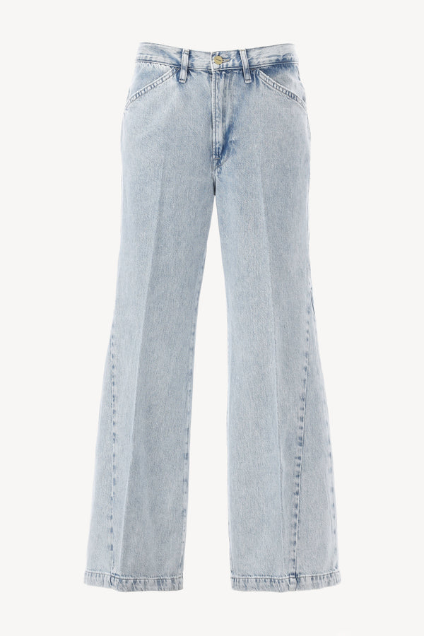 Jeans Le Baggy Palazzo in Whisper