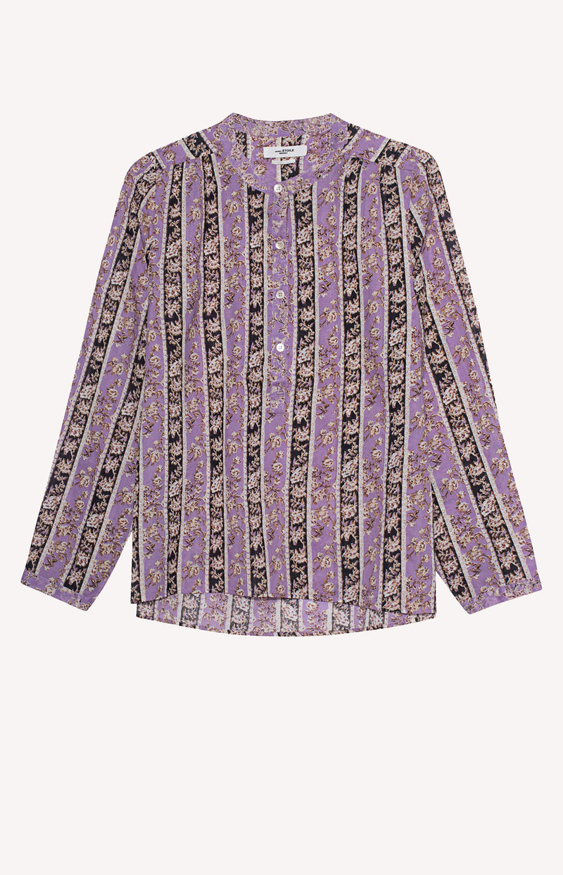 Bluse Maria in Lilac/SchwarzIsabel Marant Étoile - Anita Hass