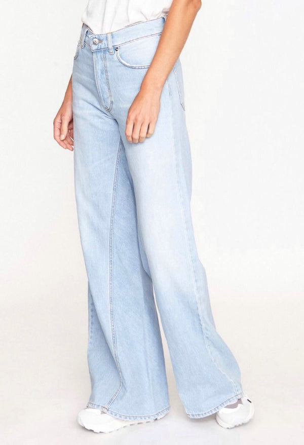 Wide Pants Washed DenimGanni - Anita Hass