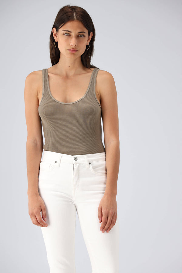 Tank Top The Daily in Fawn