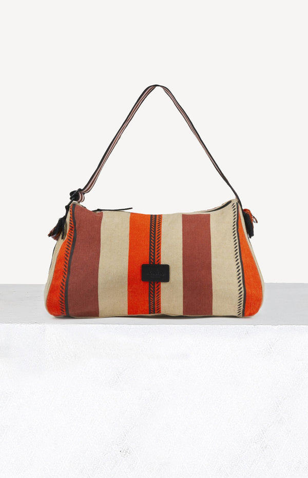 Tasche Hobo Alis in Natural Stripe MultiLala Berlin - Anita Hass