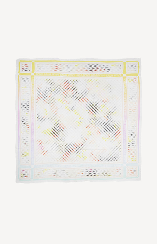 Schal Cube Holographic Large in Pastel MultiLala Berlin - Anita Hass