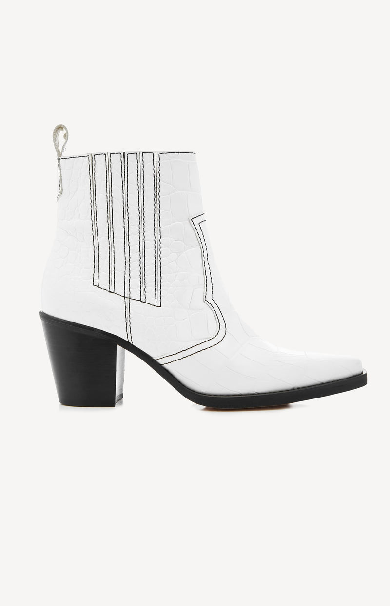 Boots Western Bright WhiteGanni - Anita Hass