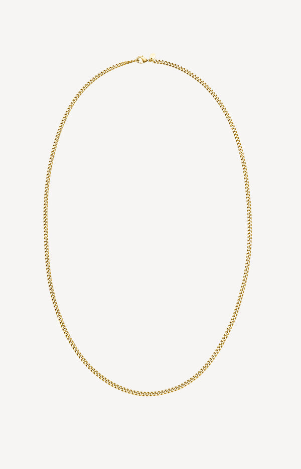 Kette Long Curb in GoldNina Kastens Jewelry - Anita Hass