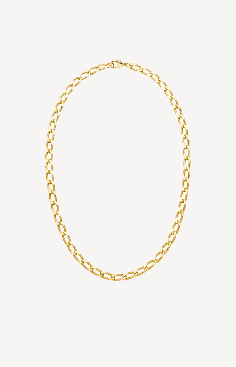 Kette Vintage Curb in GoldNina Kastens Jewelry - Anita Hass