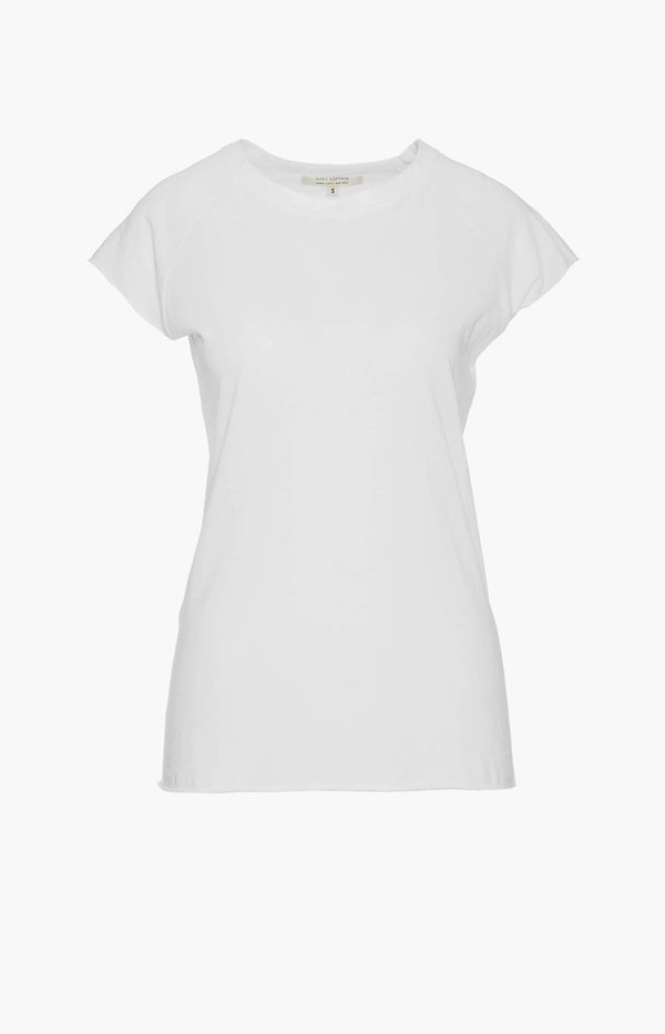 T-Shirt Short Sleeve Baseball in WeißNili Lotan - Anita Hass
