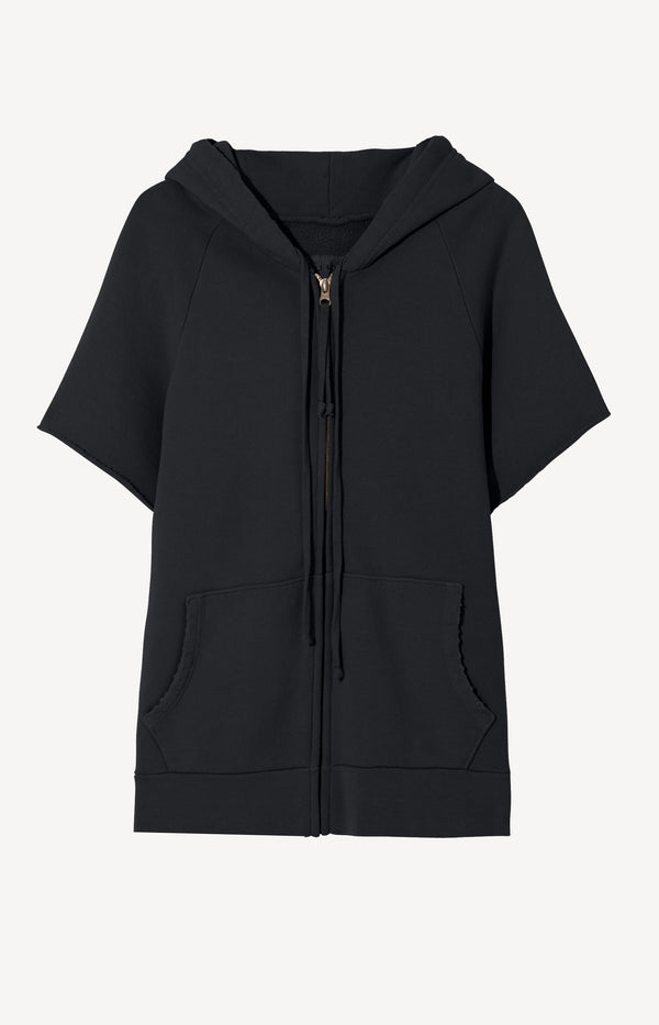 Hoodie Percy in Washed BlackNili Lotan - Anita Hass