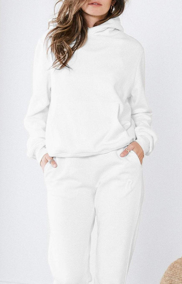 Sweatshirt Pull On in Optic WhiteRagdoll - Anita Hass