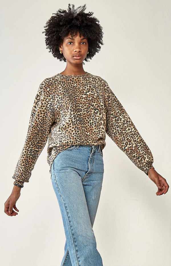 Oversized Sweatshirt in Brown LeopardRagdoll - Anita Hass