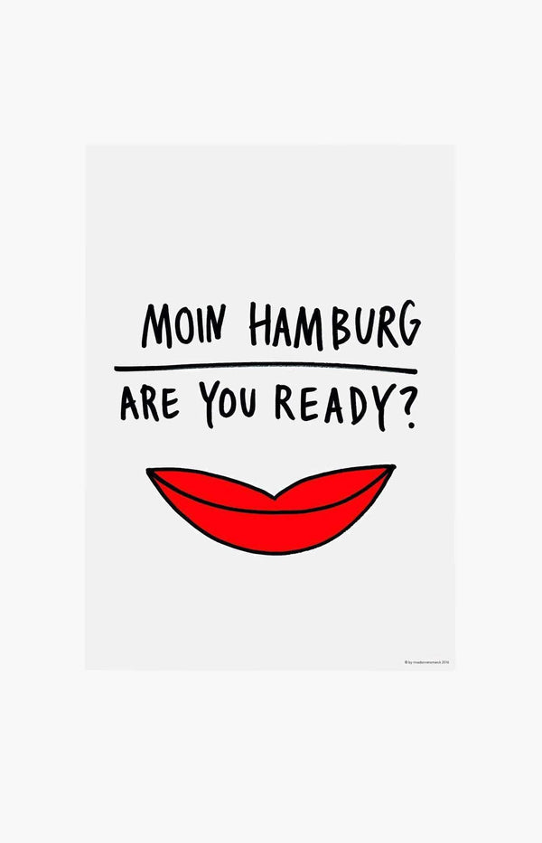 x Anita Hass Poster 'Are You Ready?'Rina Donnersmarck - Anita Hass
