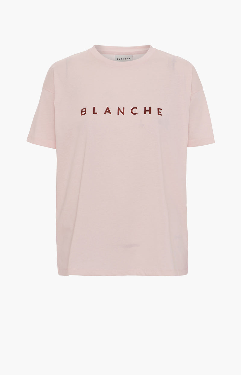 T-Shirt Main Contrast in Spring BlushBlanche - Anita Hass