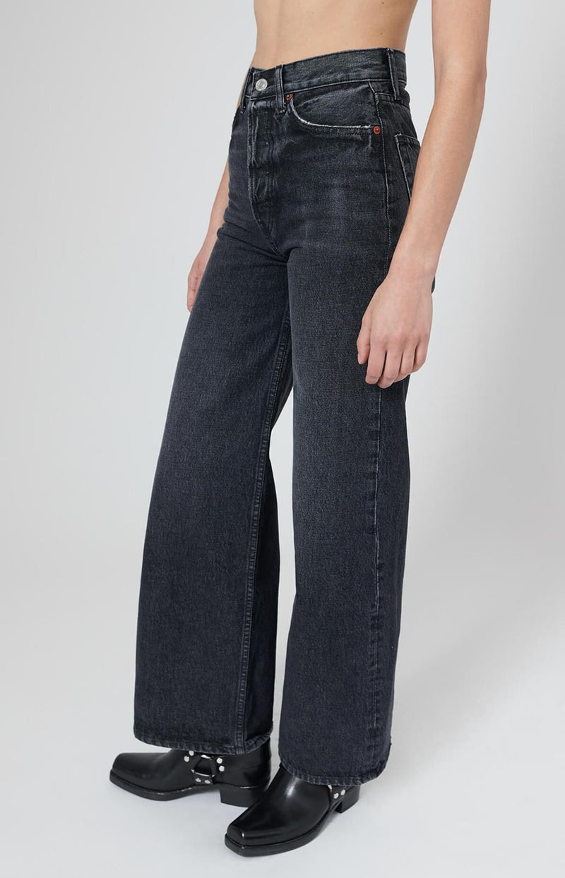 Jeans 60s Extreme Wide Leg in Shadow WashRE/DONE - Anita Hass