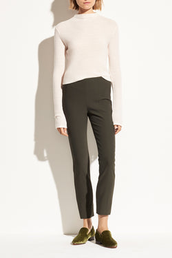 Stitch Front Leggings in Dark Fig LeafVince - Anita Hass