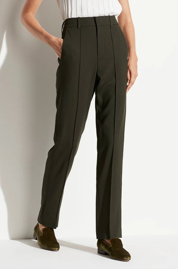 High Waist Hose in Dark Fig LeafVince - Anita Hass