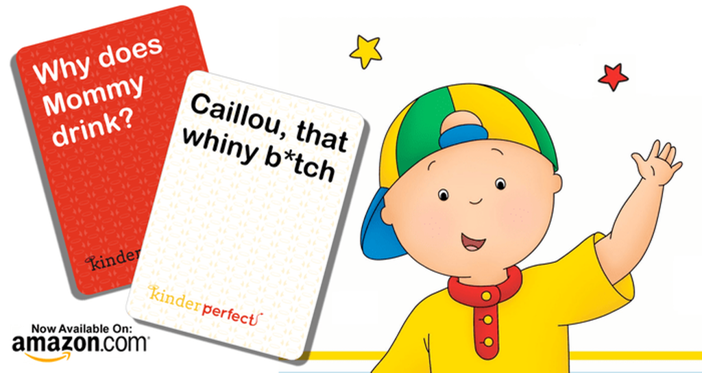 KinderPerfect Cancel Caillou Sale: 65% OFF and FREE Shipping