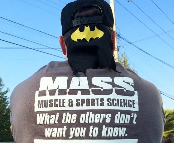 Workout Apparel: FREE MUSCLE MASS T-SHIRT