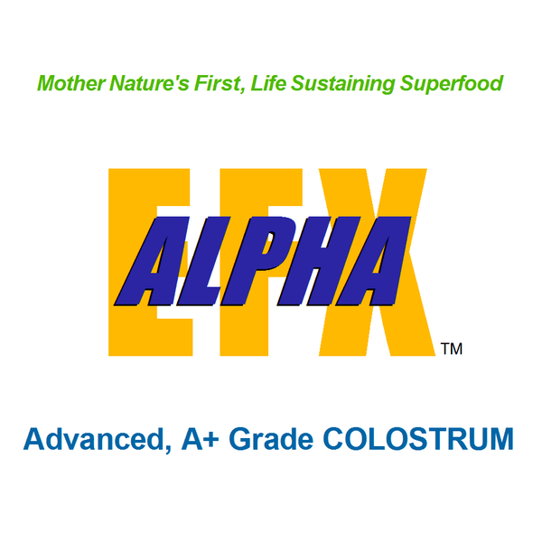 Superfood ALPHA EFX Colostrum/Probiotic 50% Off!