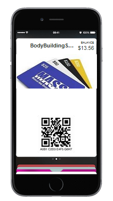 New! MASS BodyBuilding Great GIFT CARD