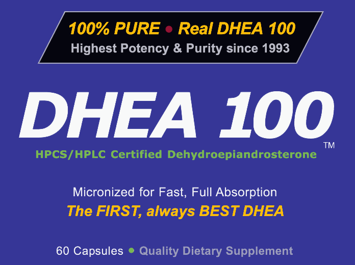 DHEA 100 - The FIRST, always BEST DHEA
