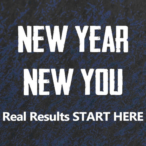 '  New Year   —   NEW YOU!  ' Real Results START HERE