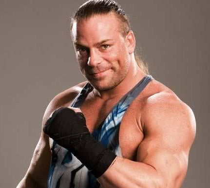Wrestling Champ's Free Gift - RVD Autographed 8x10