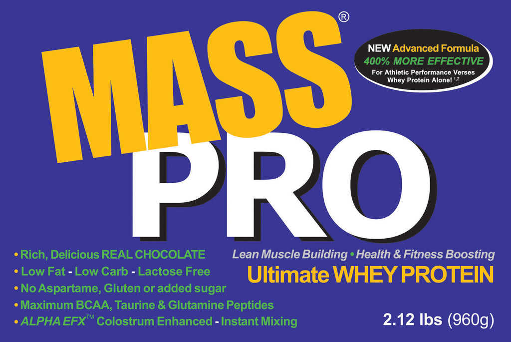 MASS PRO Whey - Clean, Pure, Premium Protein